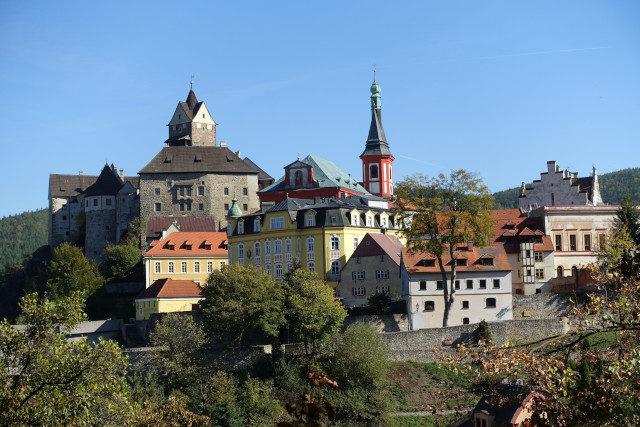 Burg und Ort Loket