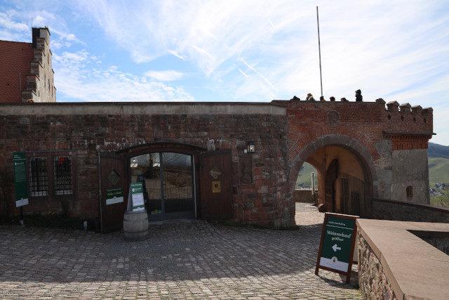 Schloss Staufenberg – Weinverkauf